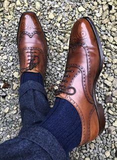 dd203805d Sprezzatura-Eleganza. Sapato Social MarromBoot MasculinoSapato Brogue ...