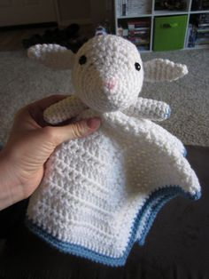 Lamb Lovey Crochet Pattern by CraftSauce on Etsy, $2.25