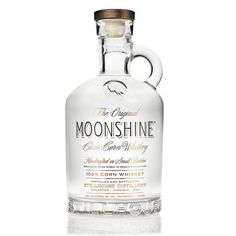 Moonshine clear corn whiskey