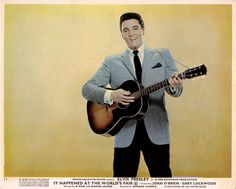 Elvis Presley, It Happened At The Worlds Fair, 1963 Lobby Card