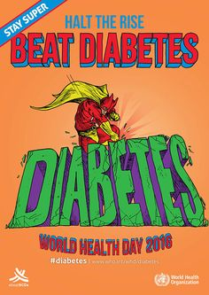 ‪#‎WorldHealthDay‬! Type 2 ‪#‎diabetes‬ is largely preventable. We can beat it! . Stay Fit, Stay Healthy