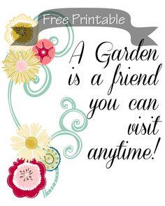 A Garden is a Friend