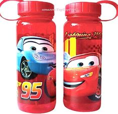 26 Ounces Pixar Cars Tritan Water Bottle Wide Mouth with Removable Inner Adapter @ niftywarehouse.com #NiftyWarehouse #Disney #DisneyMovies #Animated #Film #DisneyFilms #DisneyCartoons #Kids #Cartoons