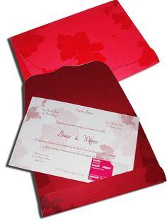 Convite de Casamento Clássico 06