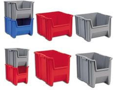 Plastic Bins, Plastic Storage Bins