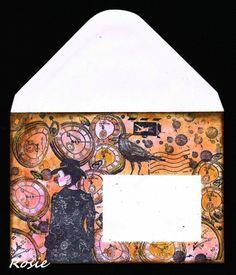 Rosie's Bastelwelt - Mail Art