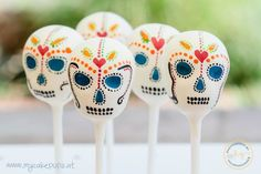 Dia de los Muertes - Cake Pops