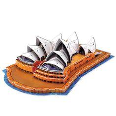 3D Puzzle - Sydney Opera House - SuperSmartChoices - 1