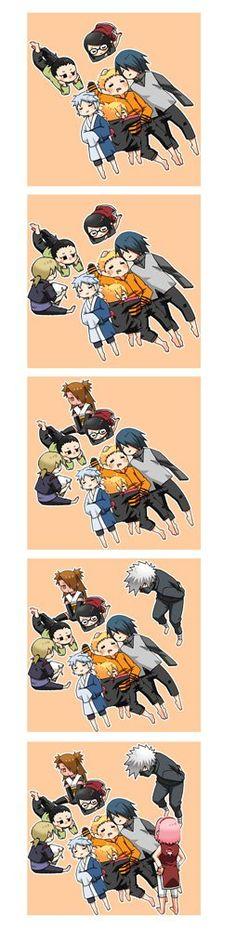 Naruto and kids