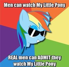 And then there are the bronies. We wear hats.