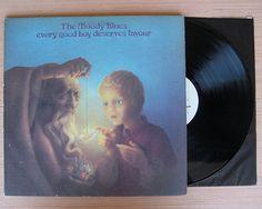 "The Moody Blues ""Every Good Boy Deserves Favour"" Vinyl Record LP. Gatefold Cover"