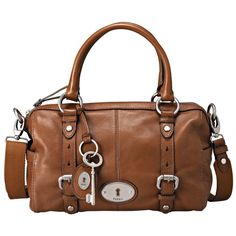 i <3 this--- huney may I please ;) my bday isnt too far away;) Fossil Maddox Glazed Leather Satchel, chestnut color....