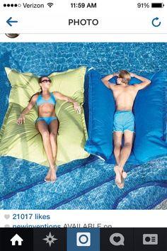 Water Body pillows!!