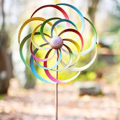 Circles Wind Sculpture  NEW COOL FUN PRODUCTS!  Come see our new product at  www.femailcreatio... #UniqueGifts #GiftsForWomen #Gifts #GiftsForAllOccassions #InspirationalGifts #NewProducts #Trendy #Sassy