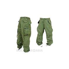 Molecule Nucleus Cargo Pants - Mens Cargo Pants - Cargo Pants |... ($44) ❤ liked on Polyvore
