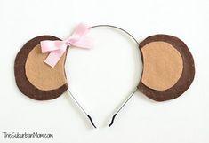 Girl Monkey Ears Headband More