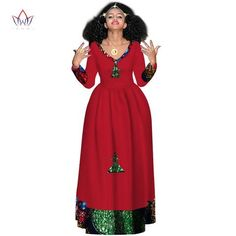 ETHNIC dresses for women, african LONG gown sleeve dresses for women v-neck in african clothing,dashiki fabric African Prom Dresses, African Fashion Dresses, African Dress, Ethiopian Traditional Dress, Traditional Dresses, Gowns With Sleeves, Sleeve Dresses, Afro, Dashiki Fabric
