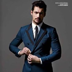 Loving that @dolcegabbana suit!  #DavidGandy for @gqthailand by @ramshergill