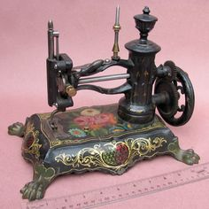 Shaw & Clark Paw Foot Sewing Machine (Also known as the Fire Hydrant Sewing Machine), circa 1860s