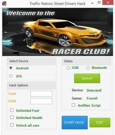 Traffic Nation Street Drivers Hack Cheats http://modhacks.com/traffic-nation-street-drivers-hack-cheats/