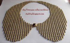 Peterpan collar necklace