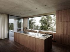 House Of Yards is a raw concrete house designed by Austrian studio Marte Marte Architects. Despite its footprint of m the House of Yards Architect House, Architect Design, Küchen Design, House Design, Houses Architecture, Minimalist Architecture, Futuristic Architecture, Concrete Houses, Precast Concrete