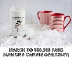 Fresh Snow Ring Candle // Diamond Candles soy candles are great for Christmas Gift Ideas for Black Friday and Cyber Monday Shopping. Check out our website for a deal this weekend! Jewelry Candles, Candle Rings, Great Christmas Gifts, All Things Christmas, Christmas Ideas, Christmas Scents, Christmas Presents, Soy Candles, Scented Candles