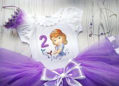 Princess Sofia Birthday, Elsa Birthday, Barbie Birthday, Princess Tutu, Tutu Outfits, Girl Outfits, Elsa Outfit, White Tulle Skirt, Lavender Dresses