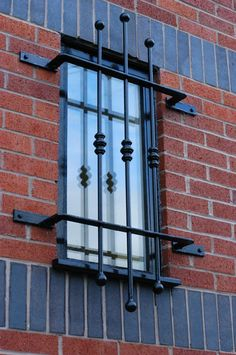 One of my rough designs will feature barred windows. The barred window symbolizes the confinement of Mexicans and Mexican-Americans to the stereotypes Americans have of them. Window Grill Design Modern, Window Design, Door Design, Iron Windows, Best Windows, Windows And Doors, Window Security Bars, Security Door, Iron Window Grill