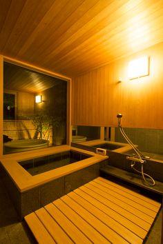Ideas for house bathroom pool Zen House, Cozy House, Japanese Bathtub, Ideal Bathrooms, Modern Farmhouse Bathroom, Roof Architecture, House Front Design, Craftsman House Plans, Home Spa