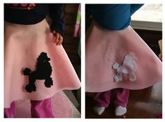 Last Minute Costume – Easy Poodle Skirt | Prudent Baby   Thought I would share since I have to make one quick today.