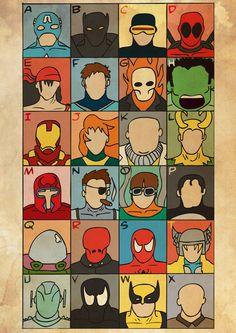 The Marvel Alphabet