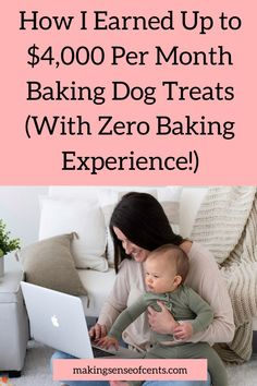 How I Earned Up to $4,000 Per Month Baking Dog Treats (With Zero Baking Experience!) Trust Fund, Managing Your Money, Investing Money, Work From Home Jobs, Finance Tips, Money Management, Money Saving Tips, Parenting Advice, Dog Treats