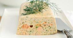 Recette de Terrine de saumon légère. Facile et rapide à réaliser, goûteuse et diététique. Ingrédients, préparation et recettes associées.