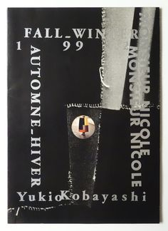 Monsieur Nicole Fall-Winter 1992   Yukio Kobayashi