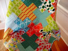 love the colors and prints! reminds me of tutu's hawaiian quilts she used to make....