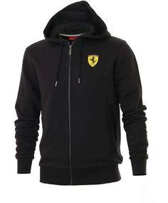 Bluza Ferrari Sweat Jacket - Black | FERRARI MEN \ BLUZY I SPODNIE | Fbutik | Scuderia Ferrari Collection