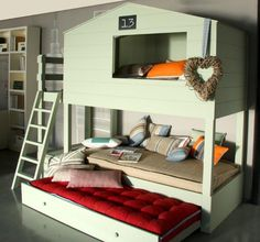 another lovely bed for kids @meyoudecoracion