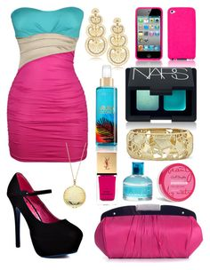 """""""Cotton Candy Formal"""" by jemevangelista on Polyvore featuring Promise Shoes, Lulu Townsend, LK Designs, House of Harlow 1960, NARS Cosmetics, Ralph Lauren and Yves Saint Laurent"""