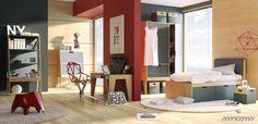Regał szeroki Mroom Volleybox - Little Room