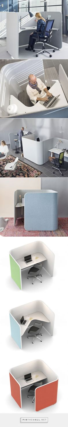 Pod Workstation | Office Furniture | Wharfside - created via http://pinthemall.net
