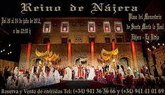 """Un viaje a la #Nájera del S.XI al Reino de Nájera-Pamplona Espectáculo #Medieval #LaRiojaApetece Nájera"""" #LaRiojaApetece"""