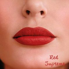 Perfectly Matte Red Supreme Avon.
