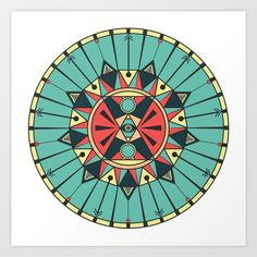 Sacred design graphic art available from #Society6 as framed print, travel mug, phone case and more. Design via @eminicreative