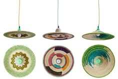 PET Lamp's Abyssinia pendants are made by Ethiopian crafters o...