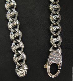 Купить Серебряная цепь мужская толстая - серебряный, серебряная цепь, цепь мужская, цепь толстая