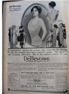 1913 DeBevoise corset