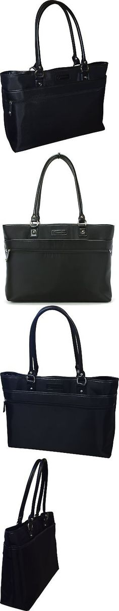 Briefcases and Laptop Bags 169293: Franklin Covey Women S Business Laptop Tote Bag - Black New -> BUY IT NOW ONLY: $42.68 on eBay!