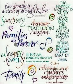 quotes to live by a happy family is a but an earlier heaven family