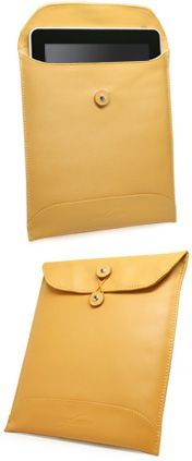 Manilla iPad Envelope (Leather) $38.95